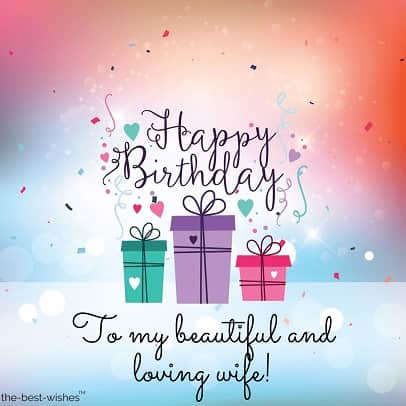 Best Happy Birthday Wishes and Messages for Wife